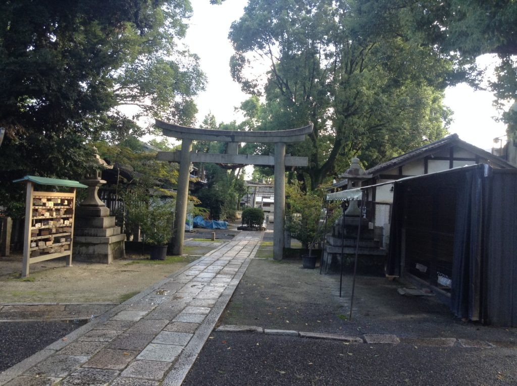 神社の境内